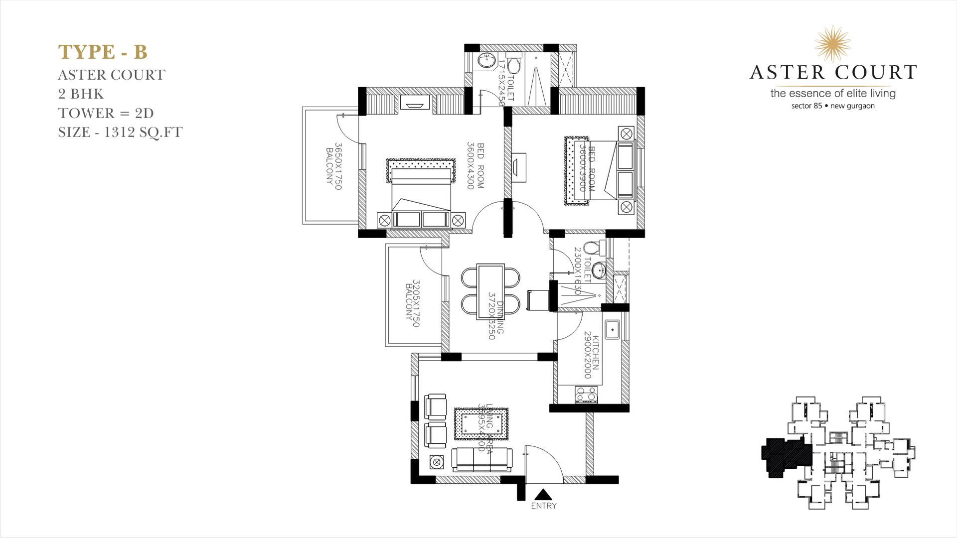 Aster Court Floor Plan 2