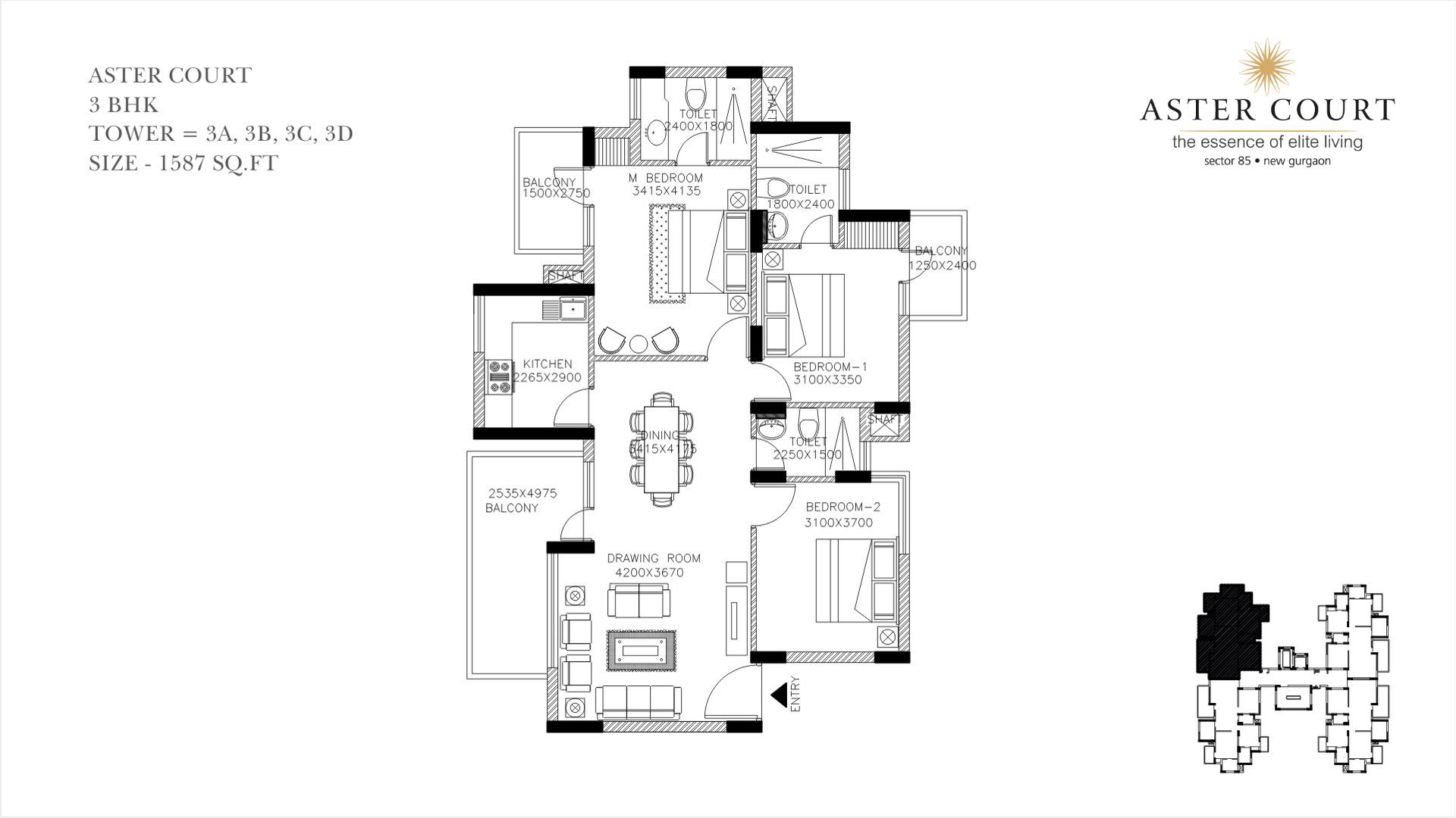 Aster Court Floor Plan 4