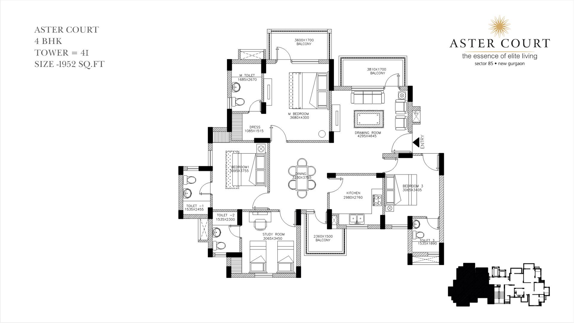 Aster Court Floor Plan 5